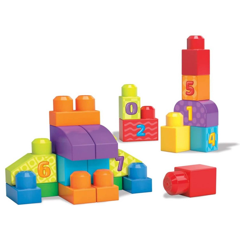 Mega Bloks bouwblokken build and learn 21-delig