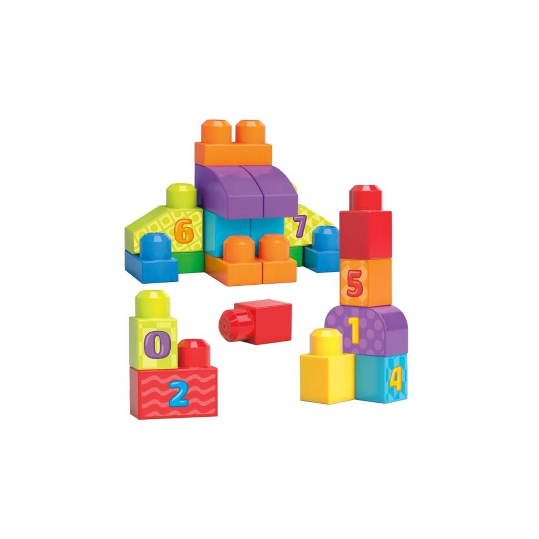 Mega Bloks bouwblokken build and learn 20-delig
