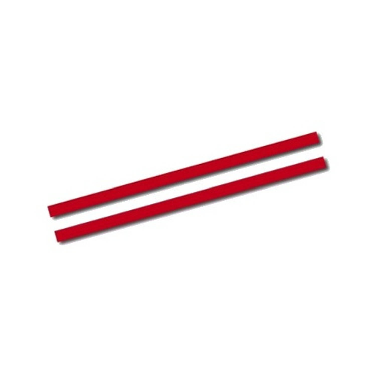 AutoStyle sticker AutoStripe Cool270 2+2 mm 975 cm rood
