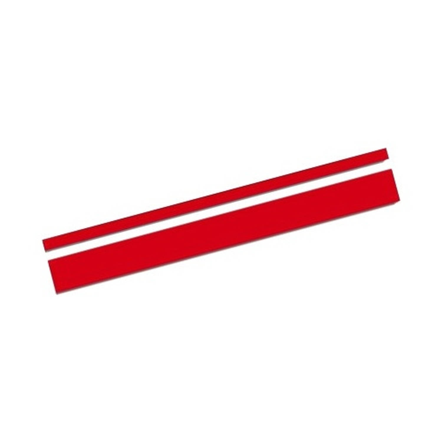 AutoStyle sticker AutoStripe Cool350 3+2 mm 975 cm rood