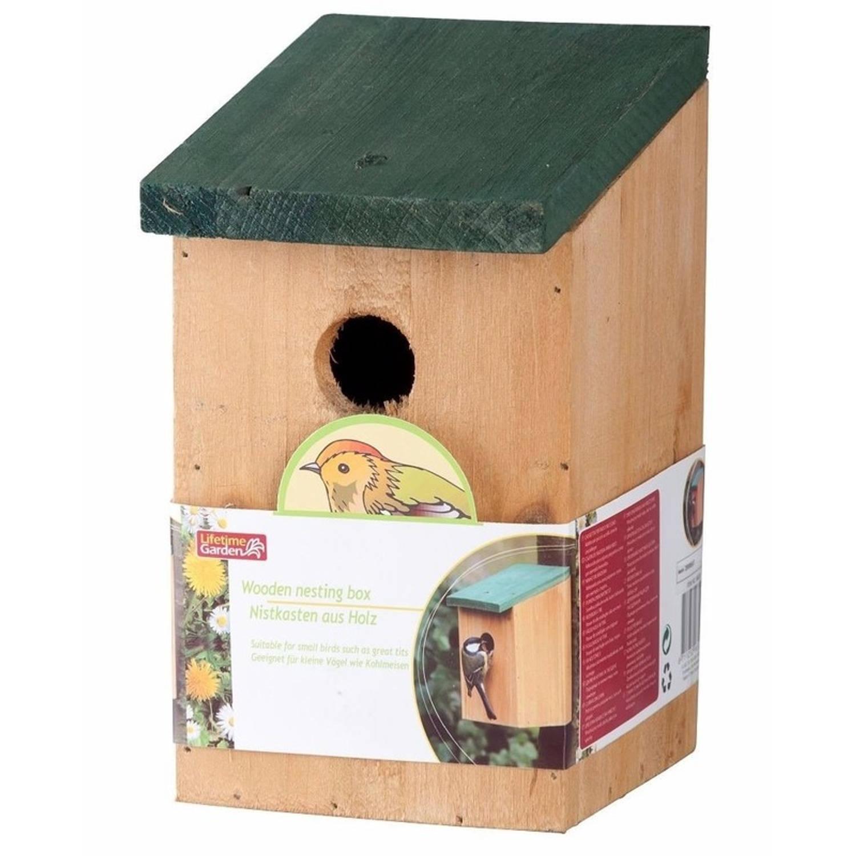 Lifetime Garden Vogelhuisje Houten Nestkast 22 Cm Vogelhuisjes online kopen