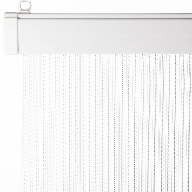 Deurgordijn transparant 93 x 220 cm - Vliegen/insecten gordijn
