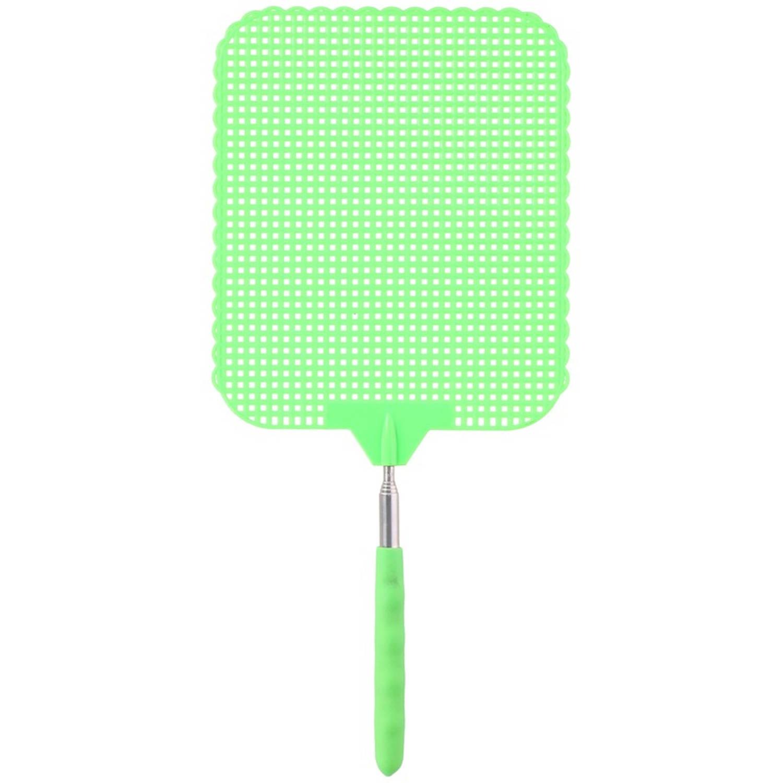 Korting Groene Uitschuifbare Vliegenmepper 76 Cm