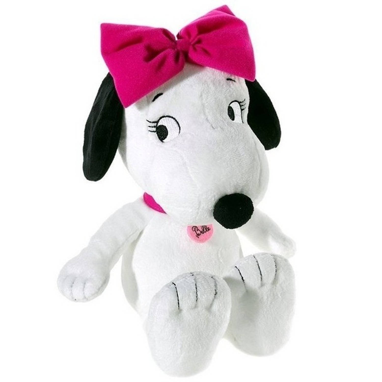 Pluche Snoopy knuffel Sister Belle 30 cm