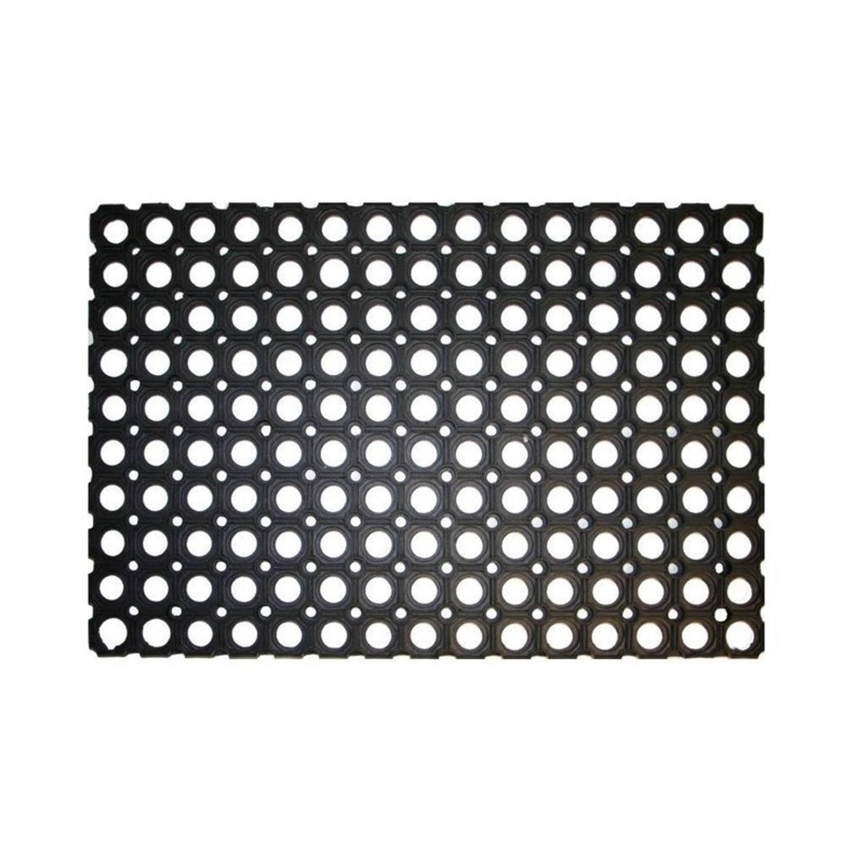 Magnifiek Rubberen deurmat - 60 x 40 cm - buitenmat | Blokker FT36