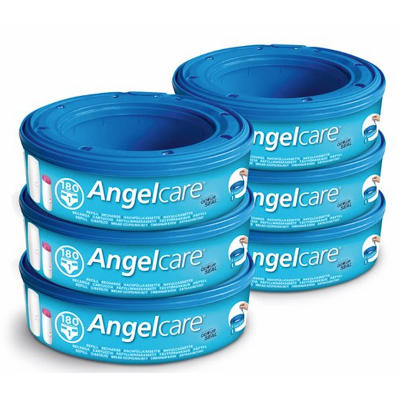 Afbeelding van Angelcare luieremmer navulcasettes (6-packs)