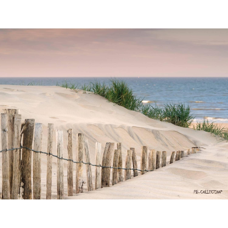 Tuinschilderij Maritime Beach 70x130cm