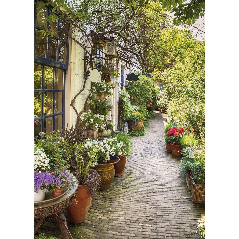 Tuinschilderij Flower Alley 70x130cm PB-Collection