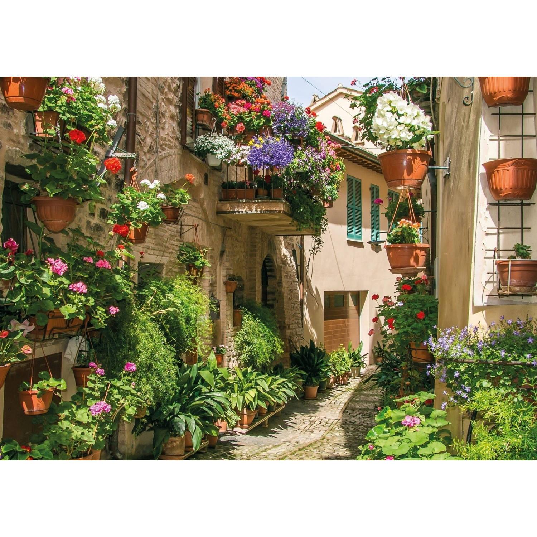 Tuinschilderij Flower street 70x130cm PB-Collection