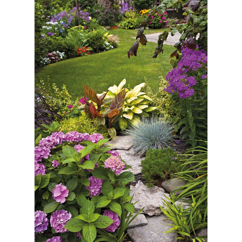 Tuinschilderij English garden view 70x130cm PB-Collection