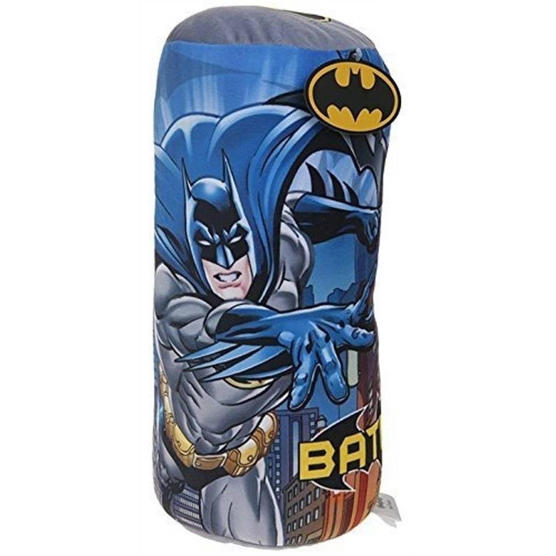 DC Comics rolkussen Batman jongens 40 cm multicolor/blauw