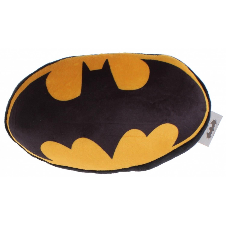 DC Comics kussen Batman-logo 46 cm pluche zwart/geel
