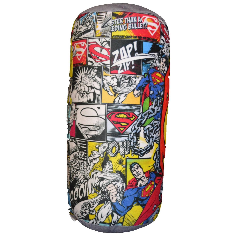 DC Comics rolkussen Superman jongens 40 cm multicolor/grijs