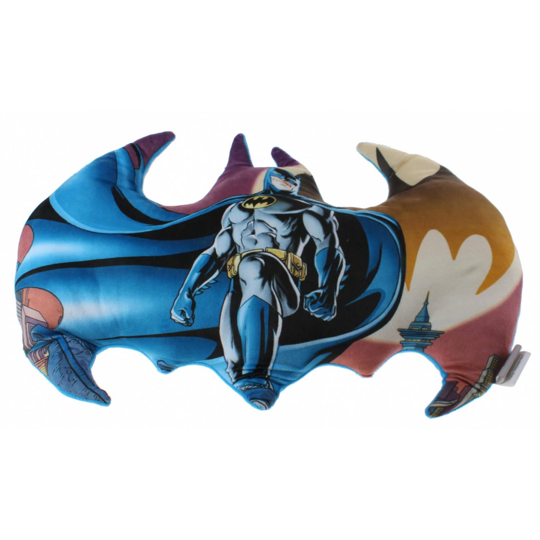 DC Comics kussen Batman 50 cm jongens multicolor/blauw