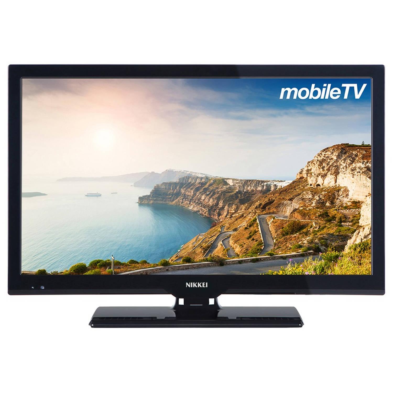 Nikkei Mobiele Televisie nl22mbk - full hd - LED tv - 12 V - zwart