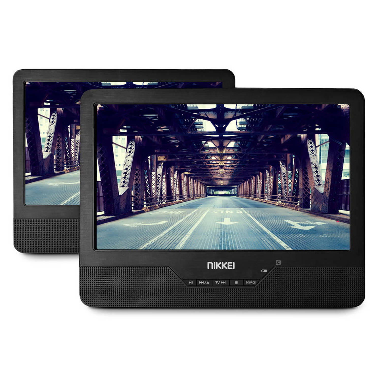 portable DVD-speler met 9 inch schermen