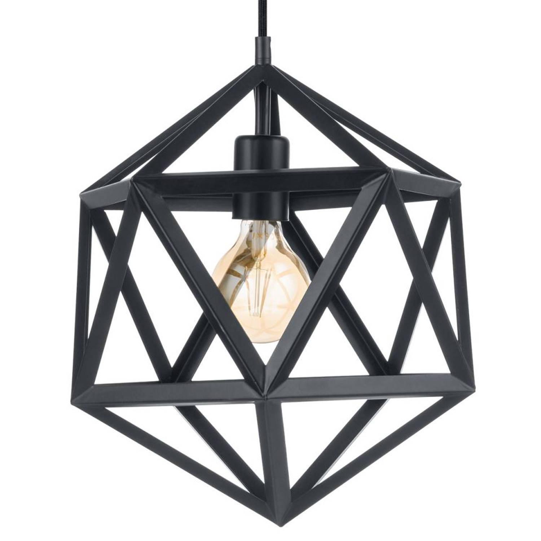 EGLO Embleton hanglamp - zwart