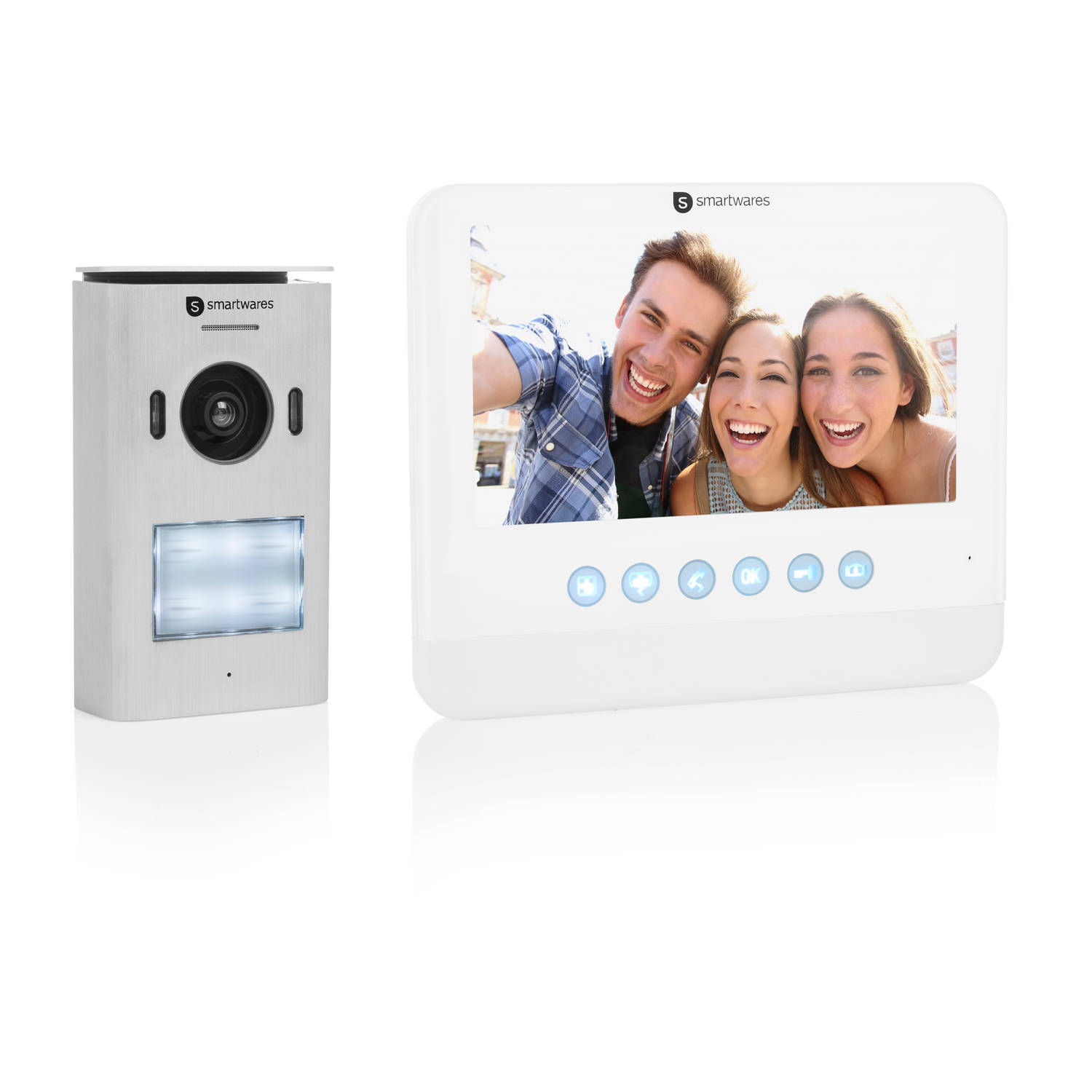 Smartwares video intercom systeem DIC-22212