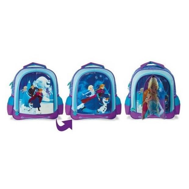 Disney Frozen 3-in-1 rugzak blauw 8 liter