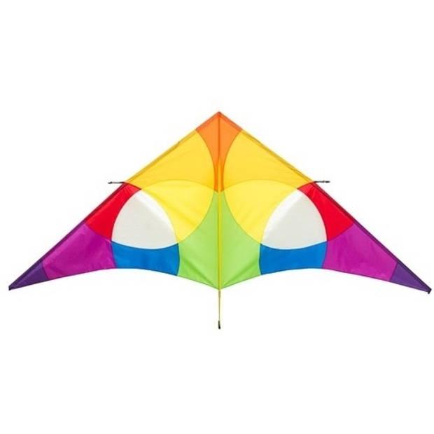 Invento eenlijnsvlieger Delta Rainbow 300 cm