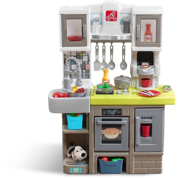 Step2 Speelgoedkeuken Contemporary Chefs Kitchen 98 cm bruin