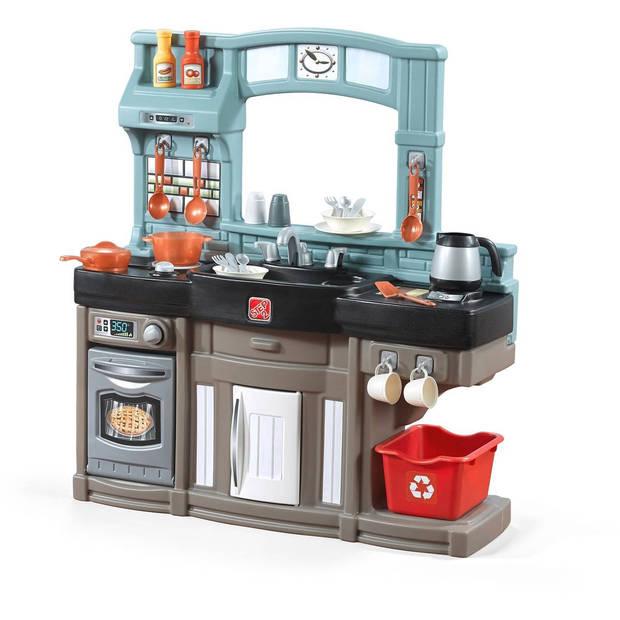 Step2 Speelgoedkeuken Best Chefs Kitchen bruin 98 cm
