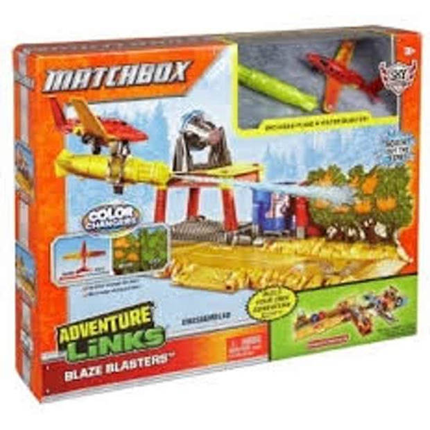 Matchbox Adventure Links Blaze Blaster