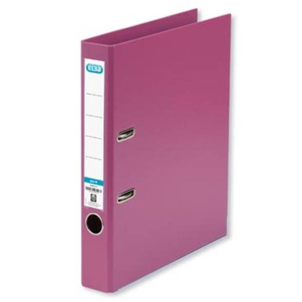 Elba ordner Smart Pro+, roze, rug van 5 cm