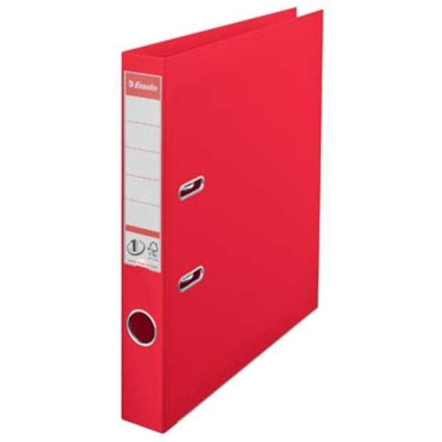 Esselte Ordner Power N° 1 Vivida ft A4, rug van 5 cm, rood