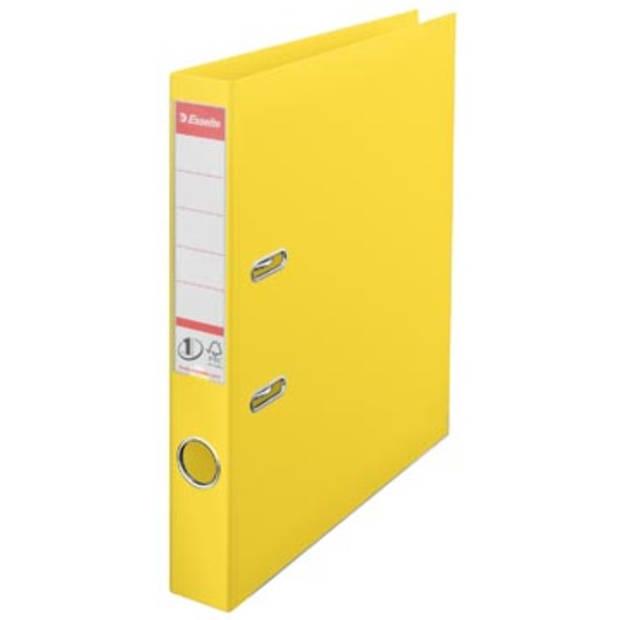 Esselte Ordner Power N° 1 Vivida ft A4, rug van 5 cm, geel