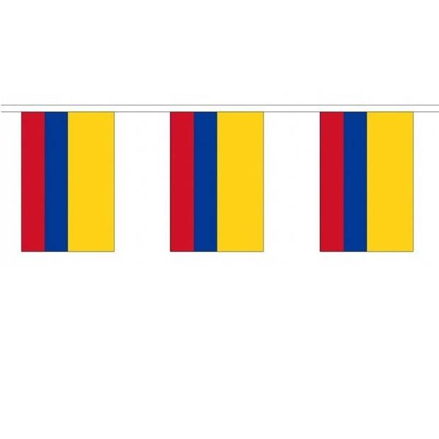 Luxe Colombia vlaggenlijn 9 m