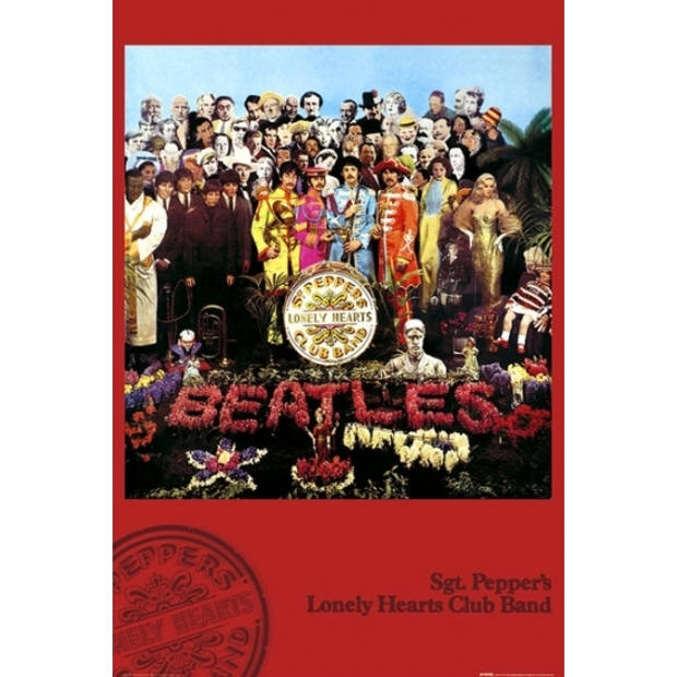 Poster The Beatles Sgt Pepper 61 x 91,5 cm