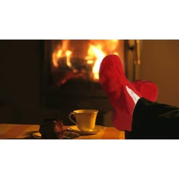 Rode Spaanse sloffen/pantoffels voor dames/heren 40