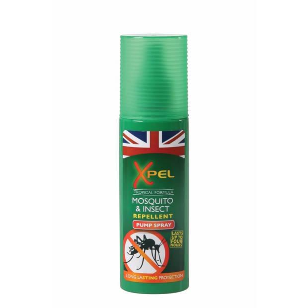 Anti muggen/insecten pompspray 120 ml