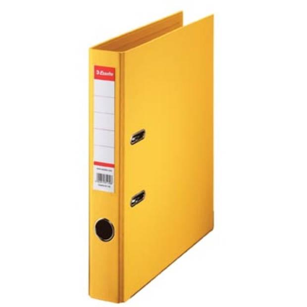 Esselte ordner Power N°1 geel, rug van 5 cm