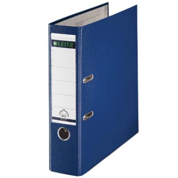 Leitz ordner blauw, rug van 8 cm