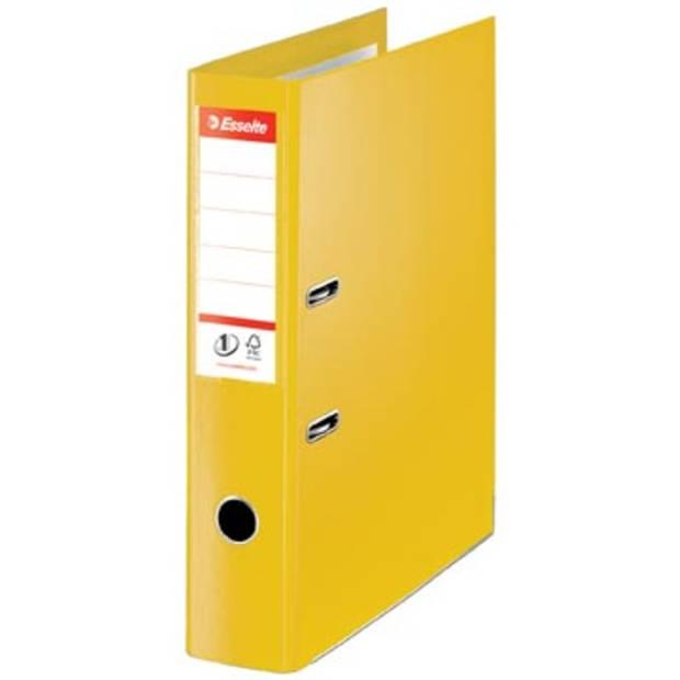 Esselte Ordner Power N° 1 Vivida ft folio, rug van 7,5 cm, geel