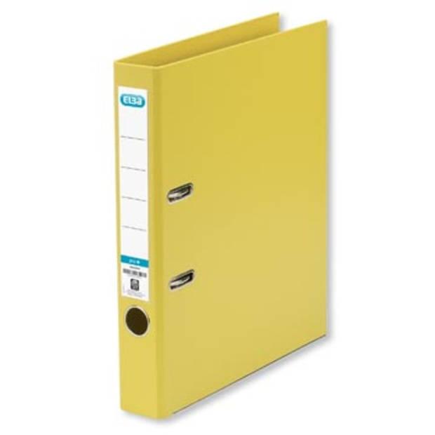 Elba ordner Smart Pro+, geel, rug van 5 cm