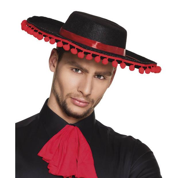 Boland hoed Espagnol heren zwart one size