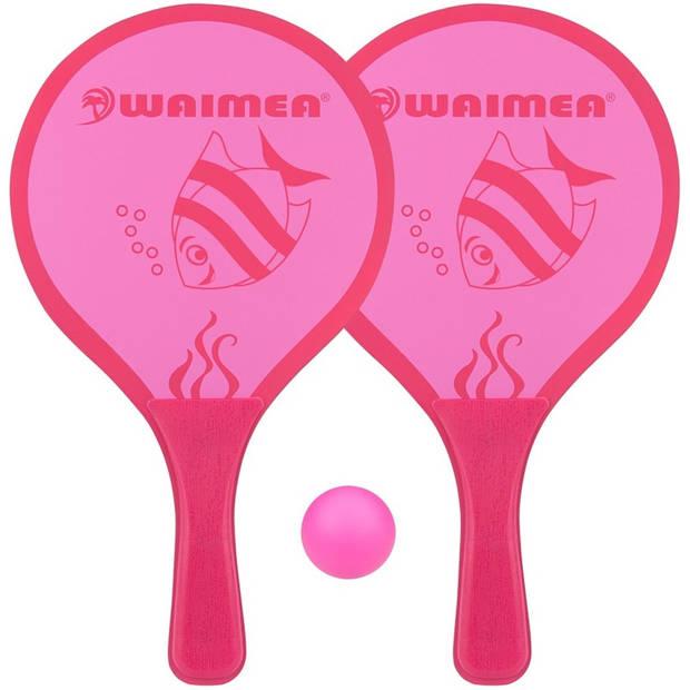 Waimea beachball set Animal 3-delig roze