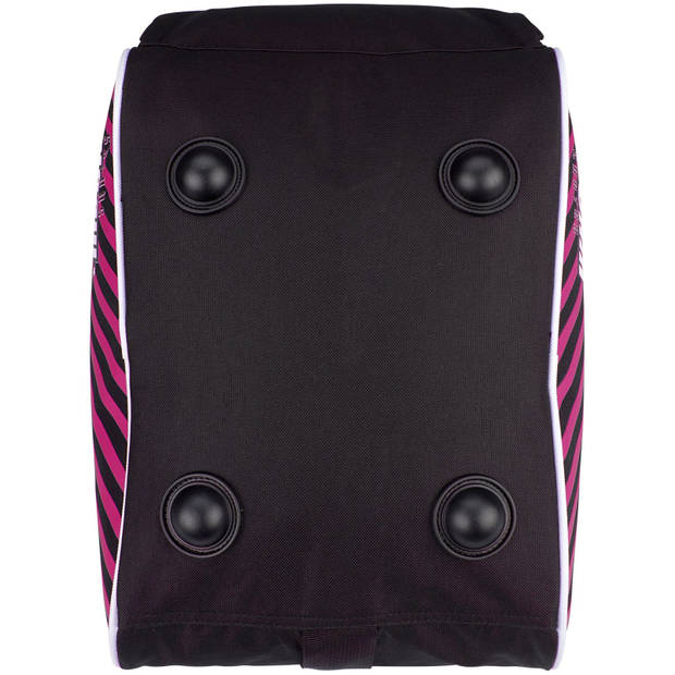 Nijdam skatetas 37 liter zwart/roze