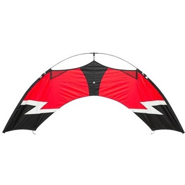 HQ Kites vierlijnsvlieger Easy Quad 162 cm rood