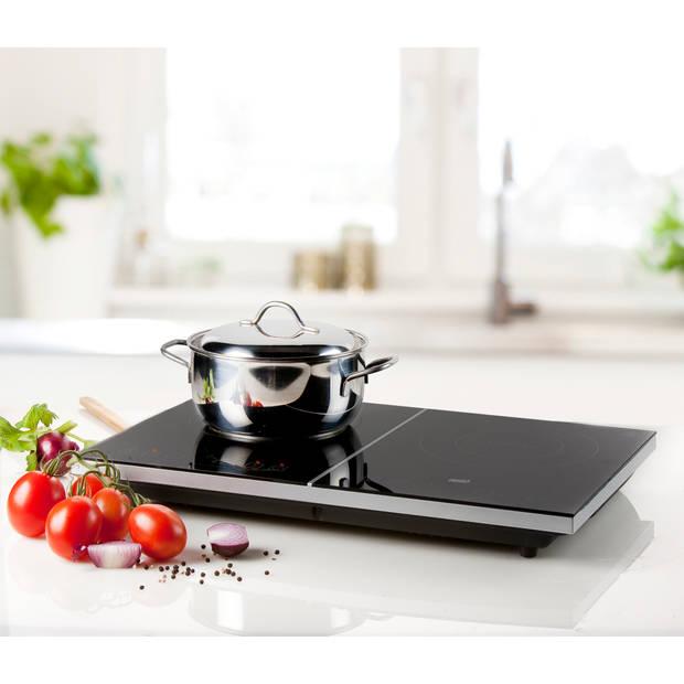Primo Dubbele inductiekookplaat IKP3-WS - 3500W - Touchscreen