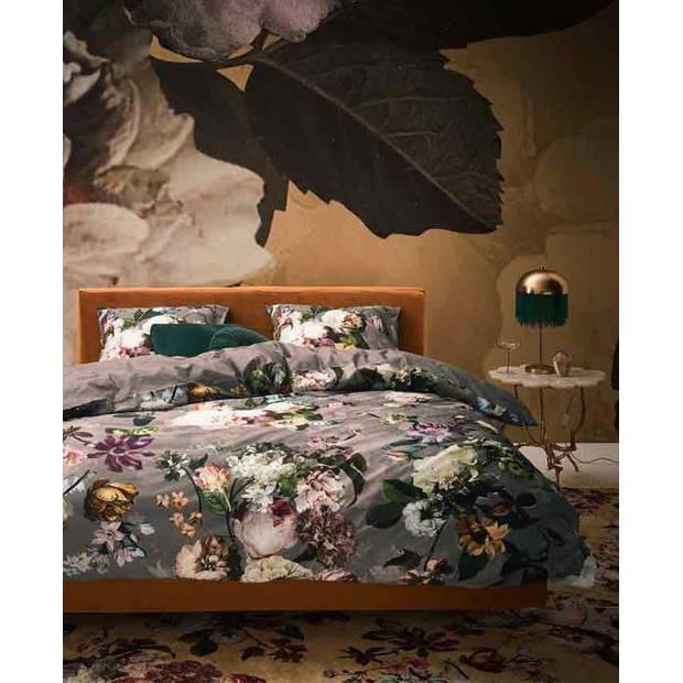Essenza dekbedovertrek Fleur - Taupe - 1-Persoons 140x200/220 cm