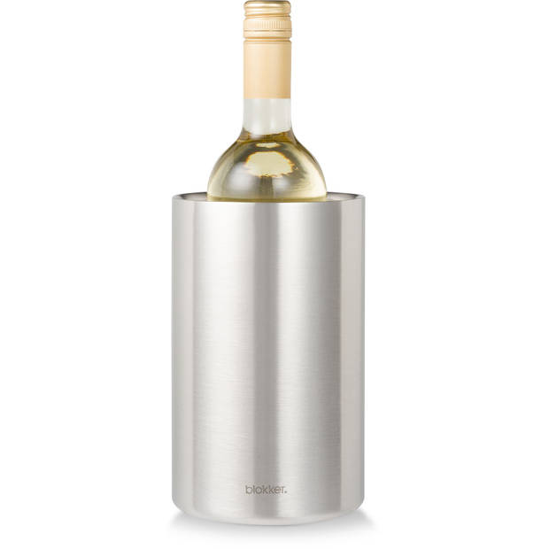 Blokker Wijnkoeler RVS