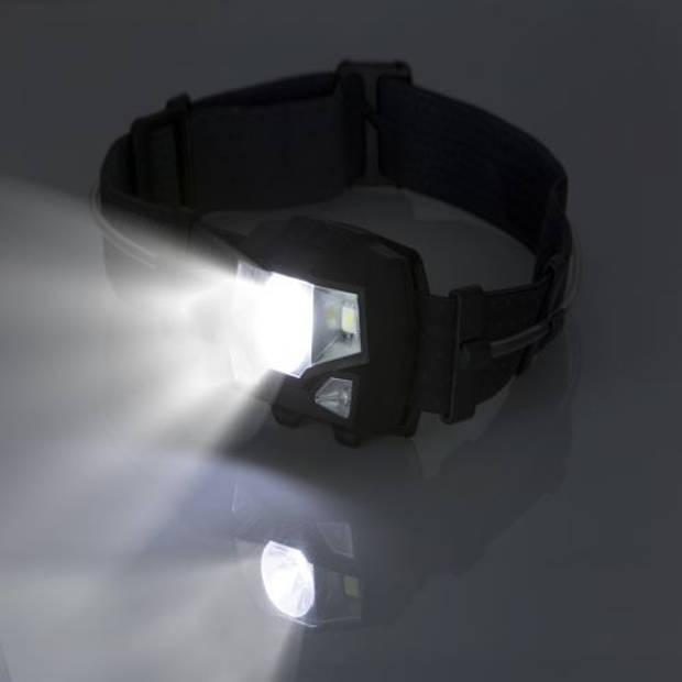 MacGyver 'Multicolor' LED Hoofdlamp Outdoor/Survival 3 lichtkleuren 150 Lumen 80m zicht Waterbestendig