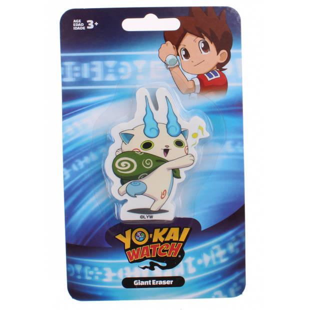 Slammer reuze gum Yo-Kai Watch kat
