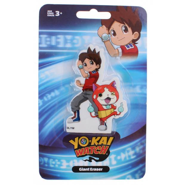 Slammer reuze gum Yo-Kai Watch kat training
