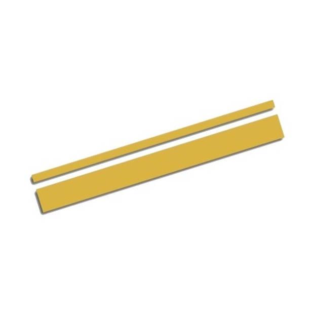 AutoStyle sticker AutoStripe Cool350 3+2 mm 975 cm goud
