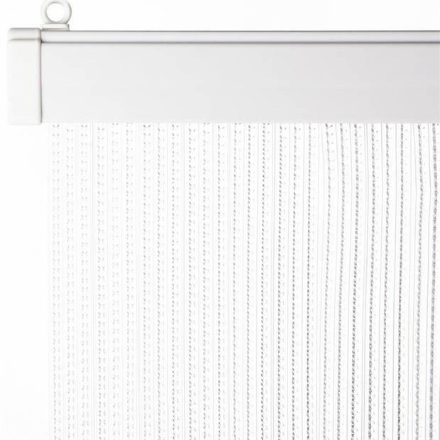 Deurgordijn transparant 93 x 220 cm - Insectenwerende vliegengordijnen